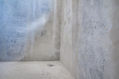Raw concrete walls background. Royalty Free Stock Photos
