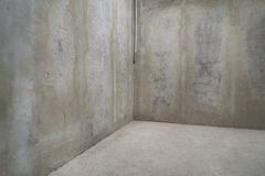 Raw concrete walls background. Royalty Free Stock Image