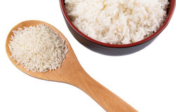Raw And Cooked Rice III Stock Images