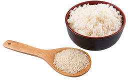 Raw And Cooked Rice IV Stock Image