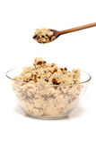 Raw Cookie Dough stock photography
