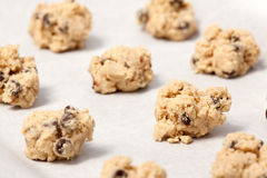 Raw Cookie Dough Royalty Free Stock Photography