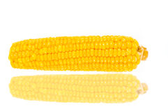 Raw corn Stock Photo