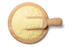 Raw corn flour Royalty Free Stock Image