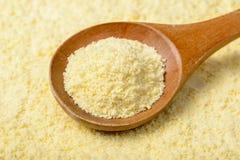 Raw corn flour Stock Images