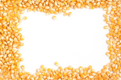 Free Raw Corn Grains Frame Stock Image - 75429471