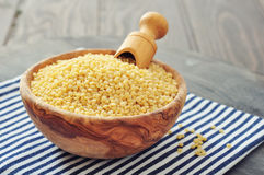 Raw couscous Royalty Free Stock Photography