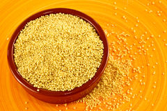 Raw couscous Royalty Free Stock Image