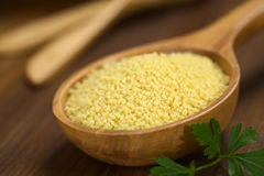 Raw Couscous Stock Photos