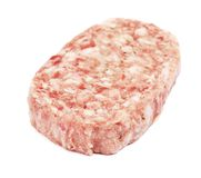 Raw Cutlet Royalty Free Stock Image