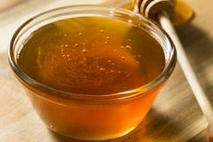 Raw Dark Organic BuckWheat Honey stock image