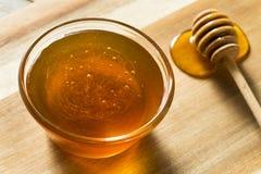 Raw Dark Organic BuckWheat Honey royalty free stock photos