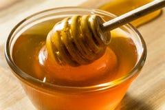 Raw Dark Organic BuckWheat Honey stock photography