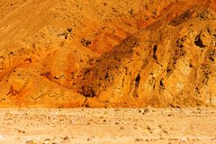 Raw Death Valley Badlands Stock Photos