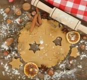 Raw dough Stock Image