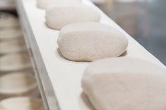 Raw dough before baking Stock Image