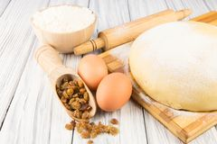 Raw dough Royalty Free Stock Images