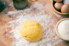 Raw dough Stock Images