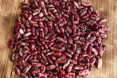 Raw dried beans Royalty Free Stock Images