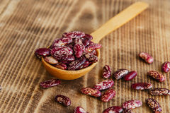 Raw dried beans Stock Image