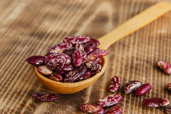 Raw dried beans Stock Photo