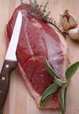 Raw duck breast Royalty Free Stock Photos