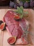 Raw duck breast Stock Image