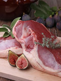 Raw duck breast Royalty Free Stock Images