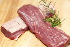 Raw duck breast Stock Photo