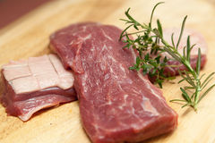 Raw duck breast Royalty Free Stock Image