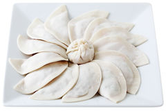 Raw Dumpling Royalty Free Stock Photo