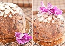 Raw Easter Cake Stock Photo