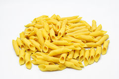 Raw egg pasta Stock Photos