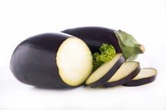 Raw eggplant Stock Image