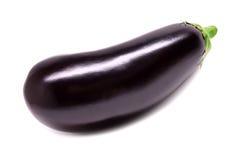 Raw eggplant isolated on white background Stock Photos