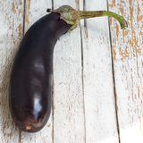 A Raw eggplant Royalty Free Stock Images