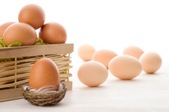 Free Raw Eggs Royalty Free Stock Photo - 39783025