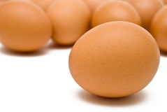 Raw eggs Royalty Free Stock Photography