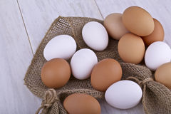 Raw Eggs Royalty Free Stock Photos