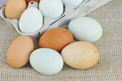 Raw eggs Royalty Free Stock Image