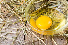 Raw eggs Royalty Free Stock Photos