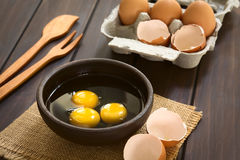 Raw Eggs Royalty Free Stock Image