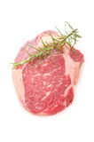 Raw entrecote beef steak Stock Photos