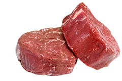 Raw filet steak Royalty Free Stock Photography
