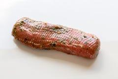 Raw fillet of lamb in marinade as Cut Royalty Free Stock Photos