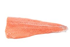 Raw fillet of sea fish. Stock Images