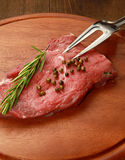 Raw fillet steak Royalty Free Stock Photography