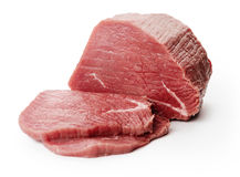 Raw fillet steaks Royalty Free Stock Images