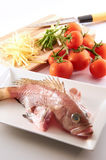 Raw Fish Royalty Free Stock Image
