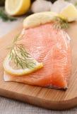 Raw fish Royalty Free Stock Image